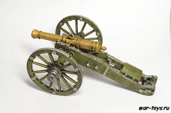 6-фунтовая пушка пешей и конной артиллерии. Россия, 1-я четв. 19