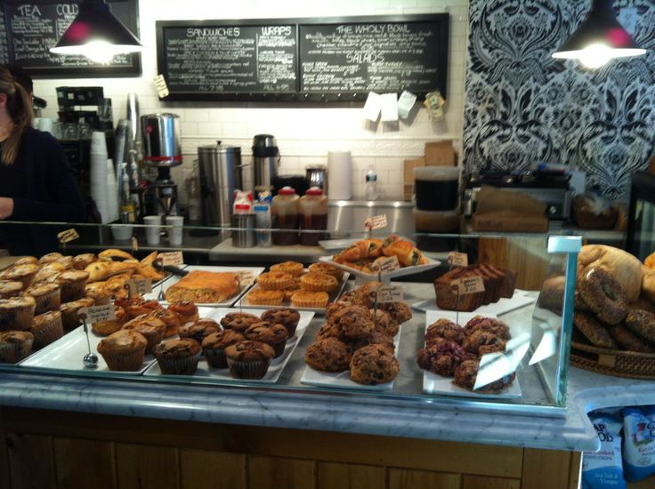 Delicious baked goods and friendly staff.
