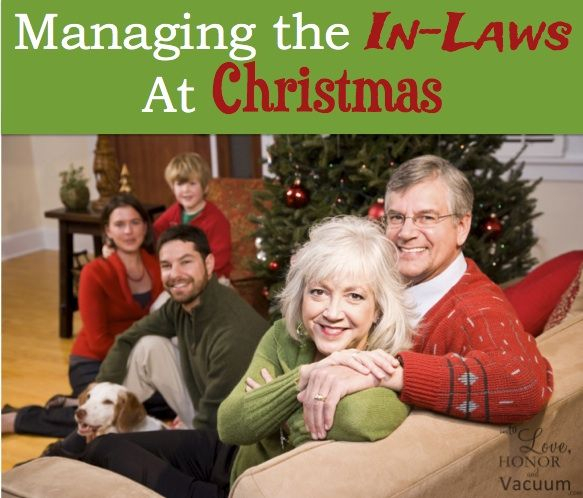 Managing the In-Laws at Christmas: How to set appropriate boundaries so you ALL can enjoy the holiday!