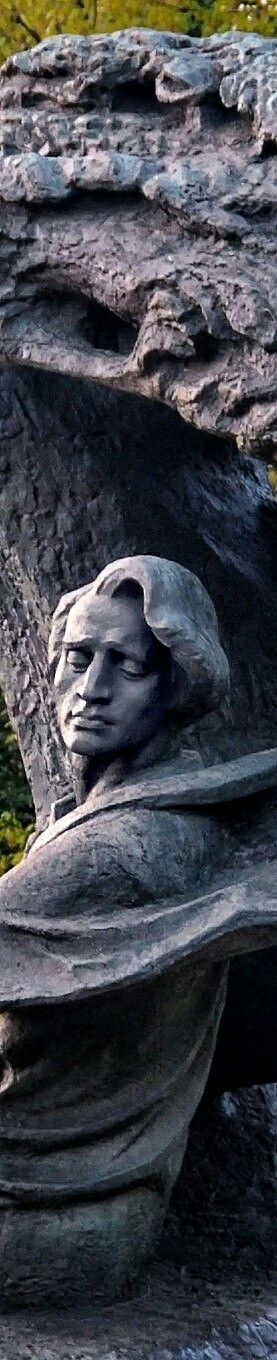 The Chopin Statue is a large bronze statue of Frédéric Chopin that now stands in the upper part of Warsaw's Royal Baths Park aka Łazienki Park, adjacent to Aleje Ujazdowskie (Ujazdów Avenue)