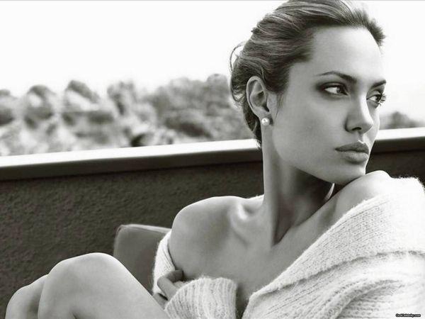 Angelina Jolie, photographed by Annie Liebovitz.