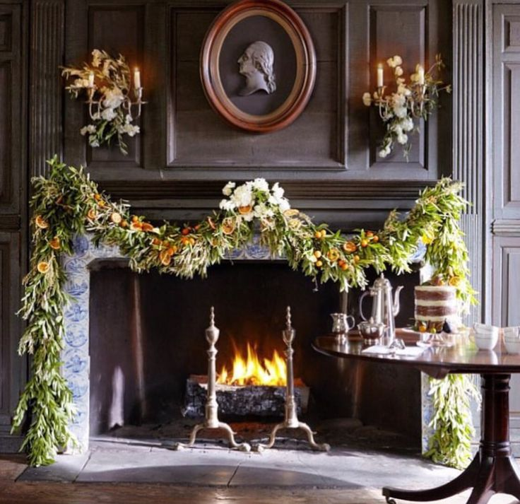 Merry Christmas (With images) | Christmas fireplace decor ...