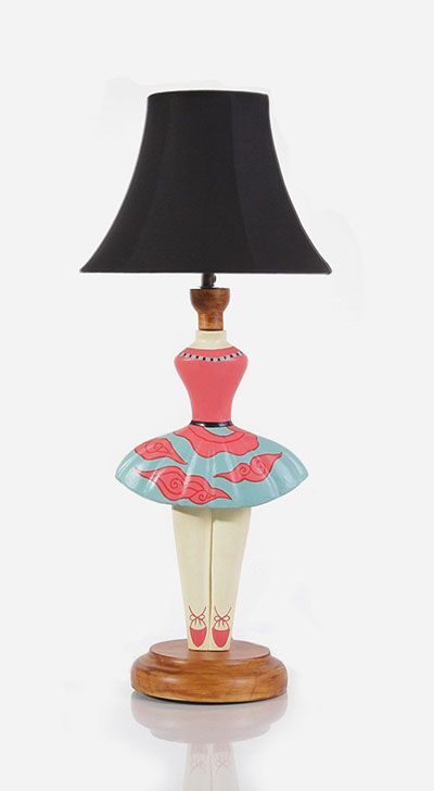 Ballerina with the coolest lamp inside  wanna buy that guys? http://www.zocko.com/z/JJtXM