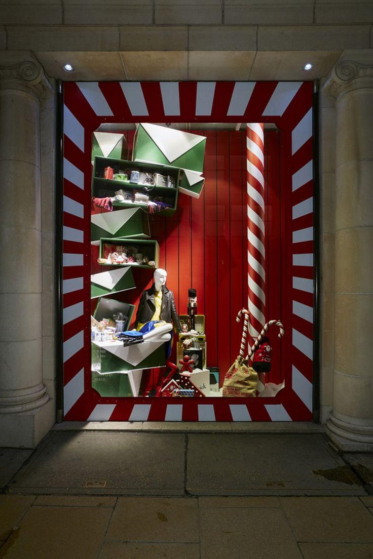 Awesome DIY Christmas Retail Holiday Displays on a Budget ...