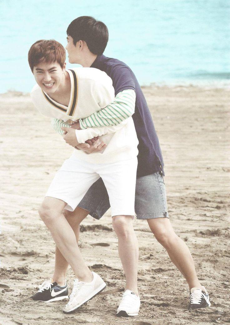SCAN #Kyungsoo #Suho #EXO Dear Happiness #Photobook