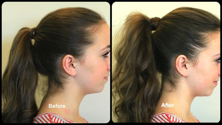 How to Get the Perfect Ponytail and more Hairstyles from CuteGirlsHairstyl…