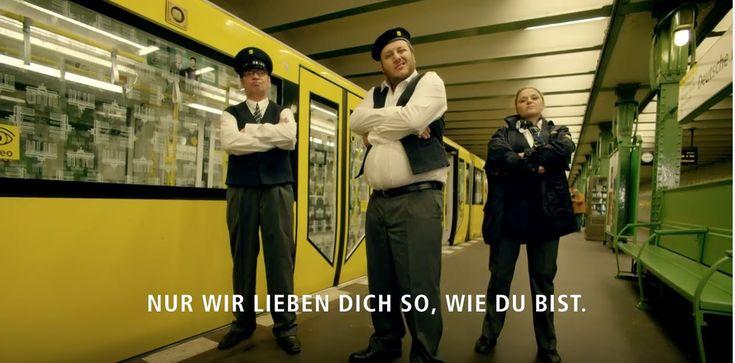 BVG Campaign, Advertisement by Agency Jung von Matt