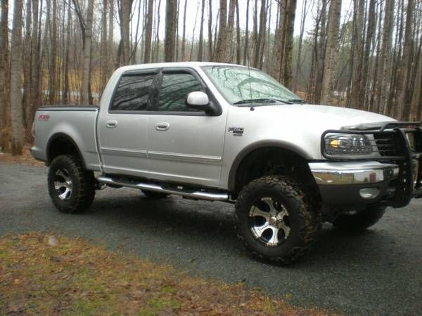 F150 2003 167,000 35s 6in lift, kenmore touch screen, split exhaust PA and a radar detected 4x4