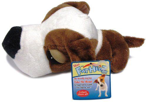 Mini FatHedz Plush Mini Beagle Dog Toy ** Click image to review more details.
