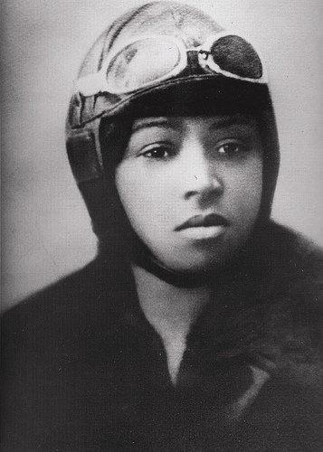 Born in 1892, the beautiful, tough, determined and incredibly inspirational, professional aviator Bessie Queen Bess Coleman was the first African American (in the world) to attain a pilot's license. At age 30, she was considered the world's greatest woman flyer. Her tragic death at only 34 ended a fierce and brilliant career.