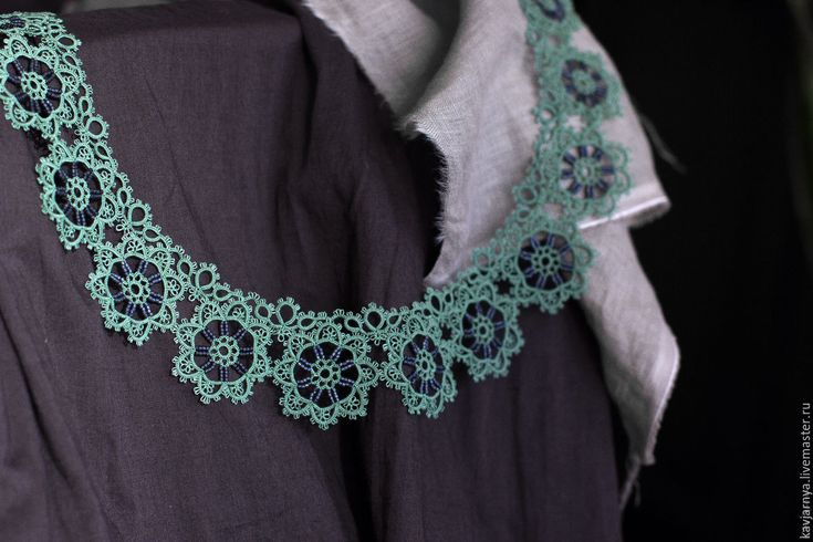 @Olha Syvovok Tatted lace collar