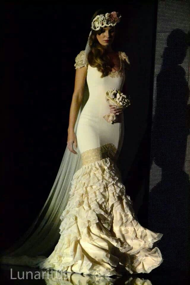 32 best images about flamenca on pinterest flamenco for Flamenco style wedding dress