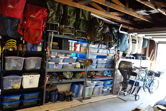 Backpacking Gear Storage Home Improvement Camping