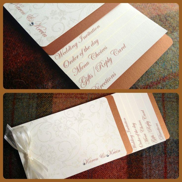 mini book wedding invitations uk%0A Cheque Book Wedding Invitation