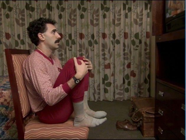 Borat discovers Pamela Anderson, true love