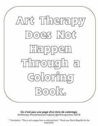 I love coloring books for adults, but it only gets you so far as a coping skill!
