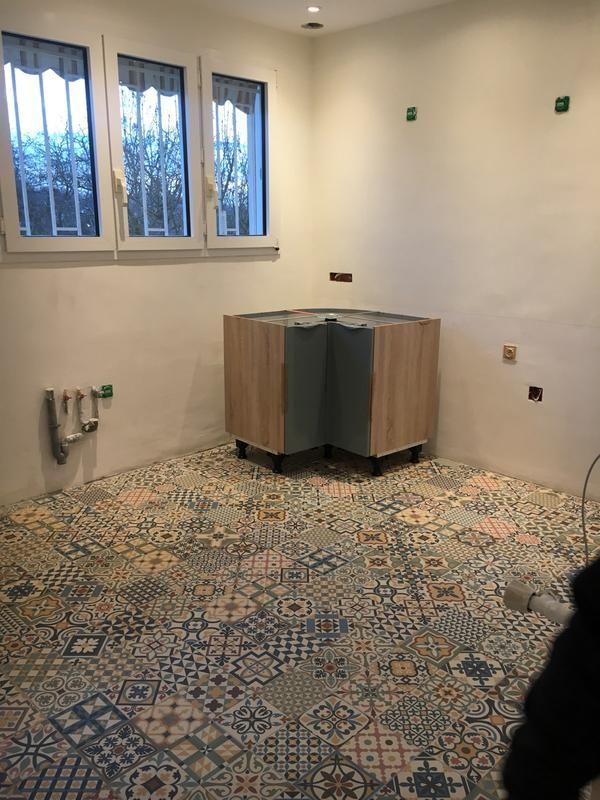 Carrelage Sol Et Mur Pastel Antan L 33 15 X L 33 15 Cm