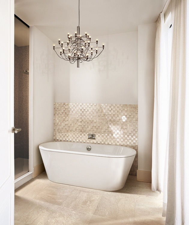 29 best images about marble inspiration on pinterest ceramics sorrento and marbles for Best paint color for crema marfil bathroom