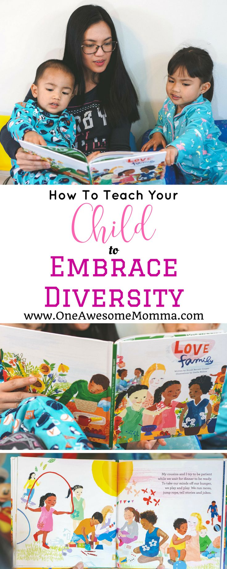 [ad] Books have a huge influence with the way kids view things. As parents, we have to choose books that are actual representations of what real life is. This personalized book, Love Family, from Loving Lion Books will absolutely teach your kids to embrace diversity. #childrensbook #learnthroughplay #diversitybooks #embracediversity | personalized books for kids | childrens books | personalized childrens books | books for kids | books for toddlers | books to read