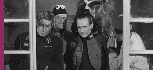 La Grande Illusion de Jean Renoir  France, 1937, 1h54 avec Jean Gabin, Pierre Fresnay, Marcel Dalio, Eric Von Stroheim   http://www.lecinematographe.com/La-Grande-Illusion_a3503.html