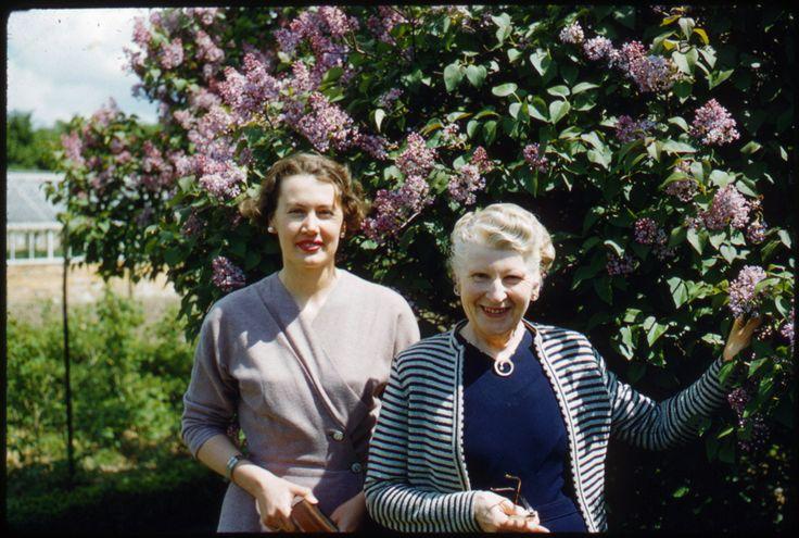 June and ? at Cray Hall, 1957. Photo Sheila Micholson.