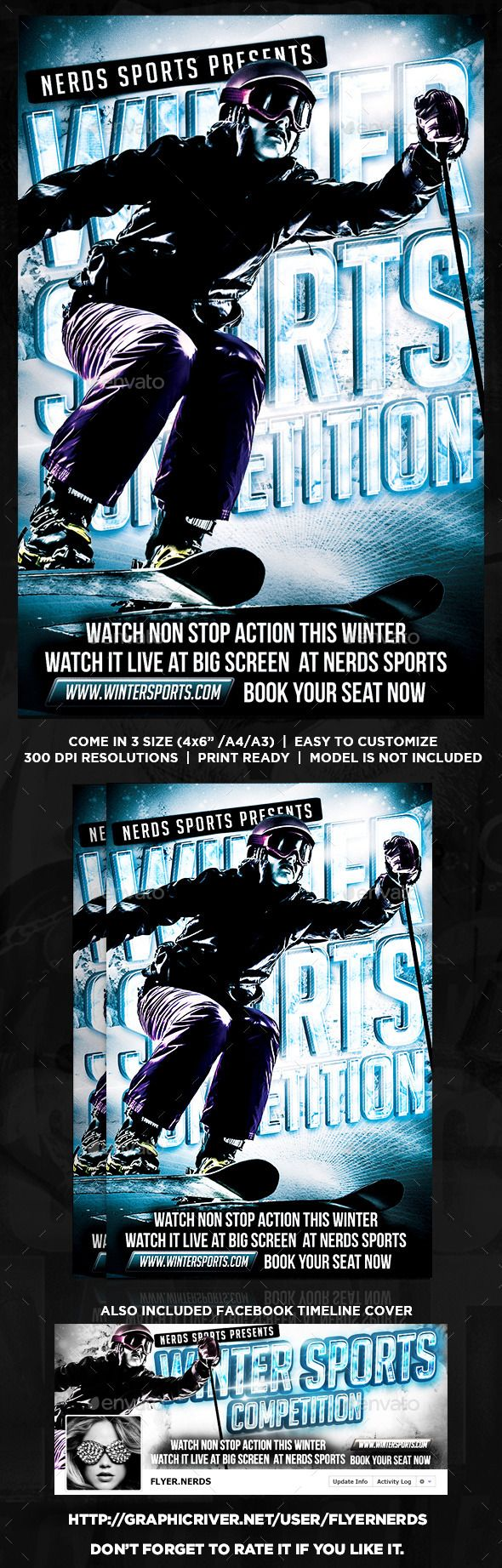 17 best images about sports flyers football flyer winter sports competition flyer