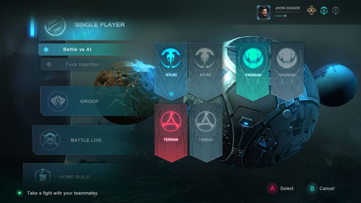 ArtStation - RED TIDES_ UI design sketch, yang qi917
