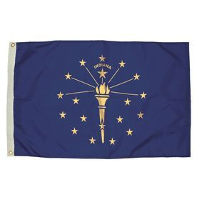 5-Ft W X 3-Ft H State Indiana Flag 2132051