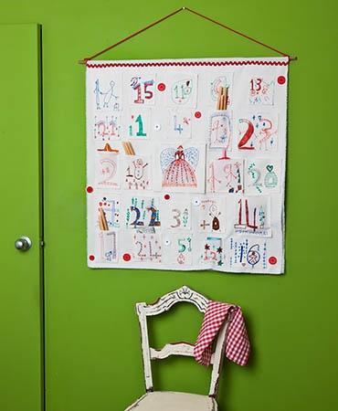 52 best Christmas Countdown Calendars images on Pinterest La la - how to create your own calendar