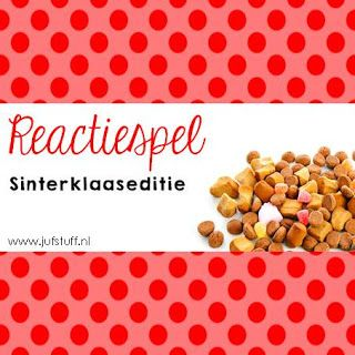 Reactiespel Juf-Stuff: Sinterklaaseditie