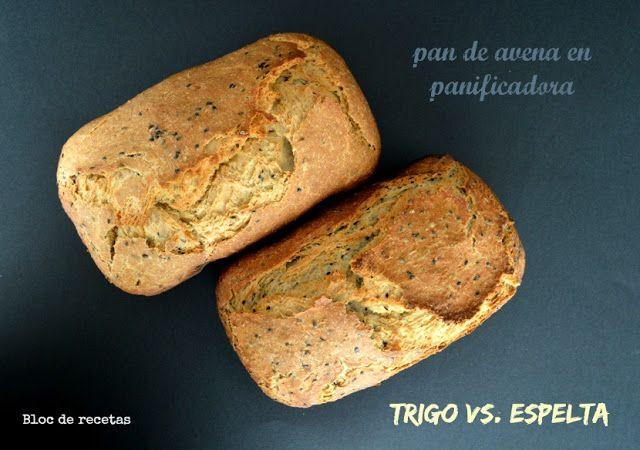 Pan de avena en panificadora Moulinex Home Bread Baguette