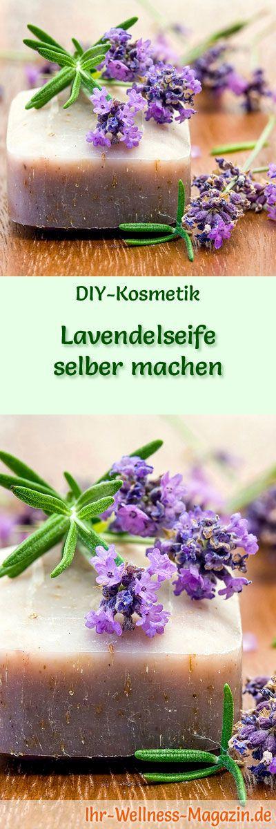 Lavendelseife selber machen – Seifen-Rezept & Anleitung – Ihr-Wellness-Magazin.de