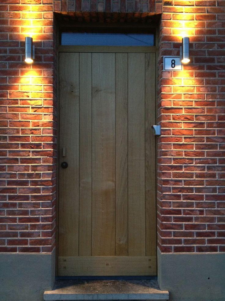 design houten voordeur - Google zoeken