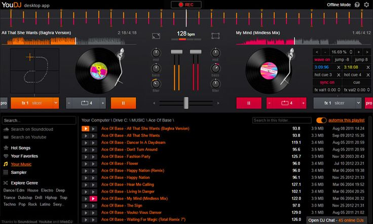 YOU.DJ DOWNLOAD - Download the YOU.DJ software (mix your mp3, record your mix...)