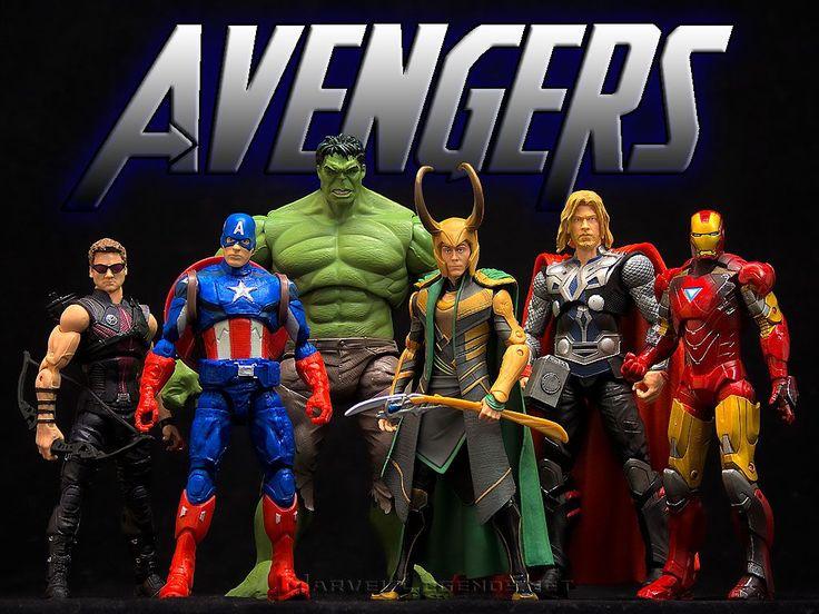 MarvelLegends.Net - Marvel Movies Avengers