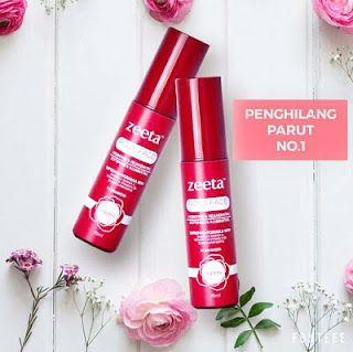 Rose Face Serum Zeeta produk terbaik untuk menghilangkan parut jerawat dan jeragat 2017.