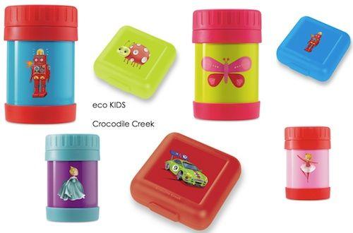 Crocodile Creek food jars and sandwich keepers!