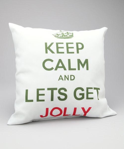 Holiday cheer pillow!
