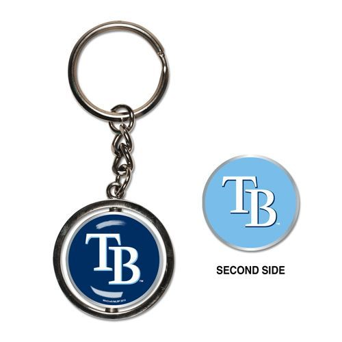 Tampa Bay Rays Spinner Keychain
