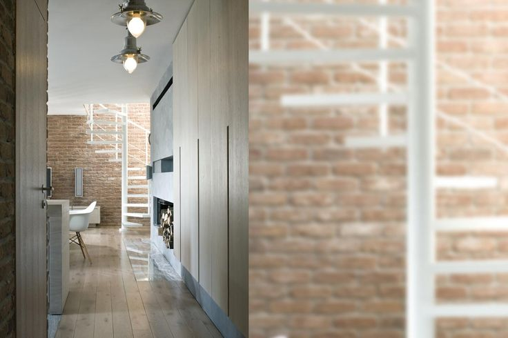 hall, brick