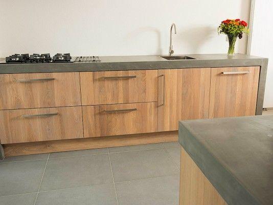 ikea keuken met houtcuisine afwerking (www.houtcuisine.nl)