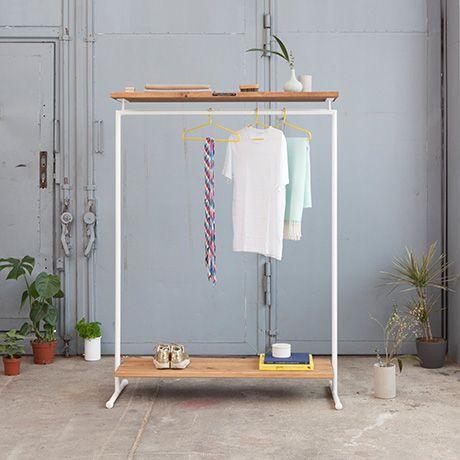 Kleiderst Nder Wandmontage kleiderstange weiß kleiderst nder wei in verschiedener gr e kaufen haken garderobe icolaia in