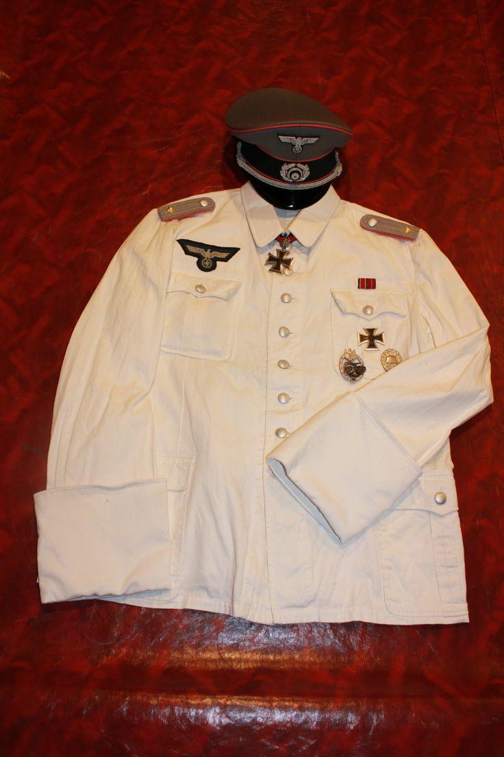 Heer Pz Ace, Otto Carius (Dress White)