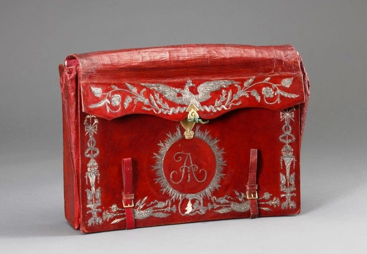 Briefcase of Tsar Alexander I -- ROYAL RUSSIA: News, Videos & Photographs About the Romanov Dynasty, Monarchy and Imperial Russia - Updated Daily