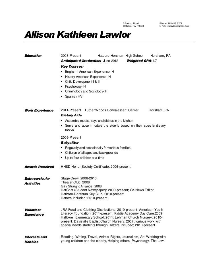 Dietary Aide Resume Check More At Http Easybusinessposters Com Dietary Aide Resume