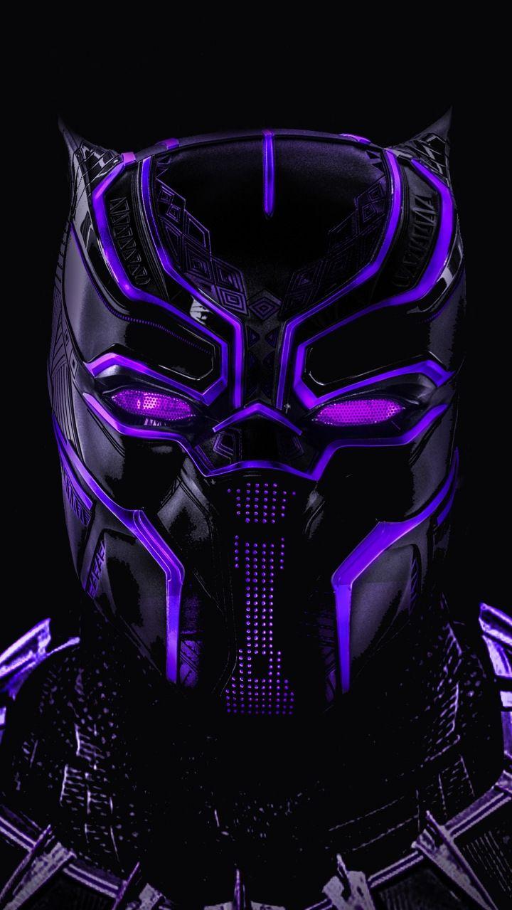 Black Panther Glowing Mask Art Iphone Wallpaper Iphone Wallpapers Black Panther Marvel Black Panther Black Panther Superhero