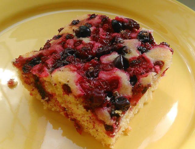 Szybko, smacznie i prosto - ciasto z owocami letnimi