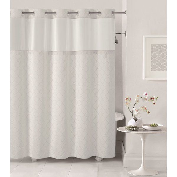 Mosaic Single Hookless Shower Curtain Hookless Shower Curtain