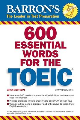 600 Essential Words for the TOEIC 3rd Ed Pdf +Audio CDs - eStudy Resources | mobimas.info