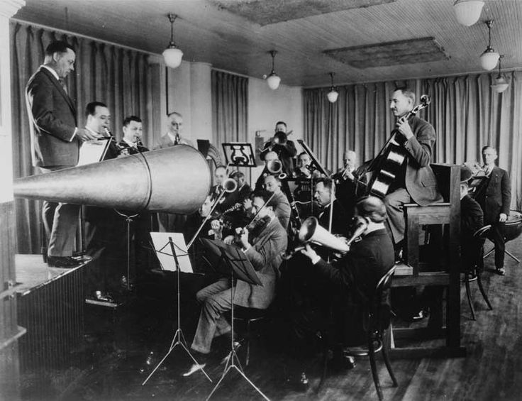 Beardsley_Victor. How the first recording studios looked.